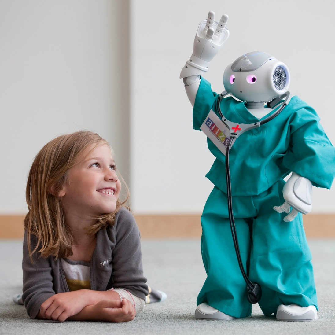 The ALIZ-E project studied how social robots could support children during a stay in hospital.